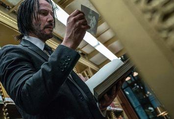 جدیدترین تصاویر بازیگر ماتریکس در فیلم جان ویک ۳