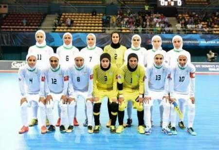 تیم های فوتسال بانوان ایران و اوکراین به تساوی رسیدند