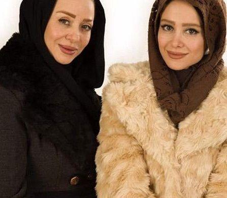 عکس الناز حبیبی و خواهر جانش