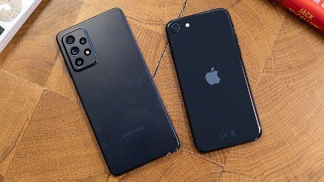 مقایسه دو گوشی میان رده و قدرتمند آیفون SE و گلکسی  A52