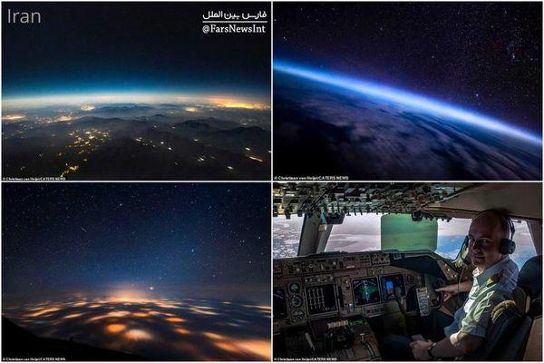 تصویر زمین از آسمان ایران