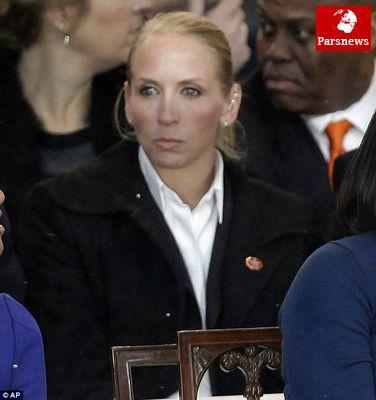 این زن مو بلوند محافظ اوباما ست! ! + عکس
