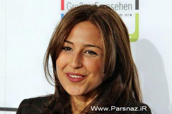 دختر ایرانی مجری مشهور تلویزیون آلمان شد+عکس