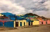 توییتر:: خانههای رنگی محلهای در زاهدان +عکس