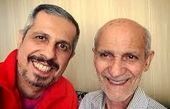 اینستاپست سید جواد رضویان برای روز پدر