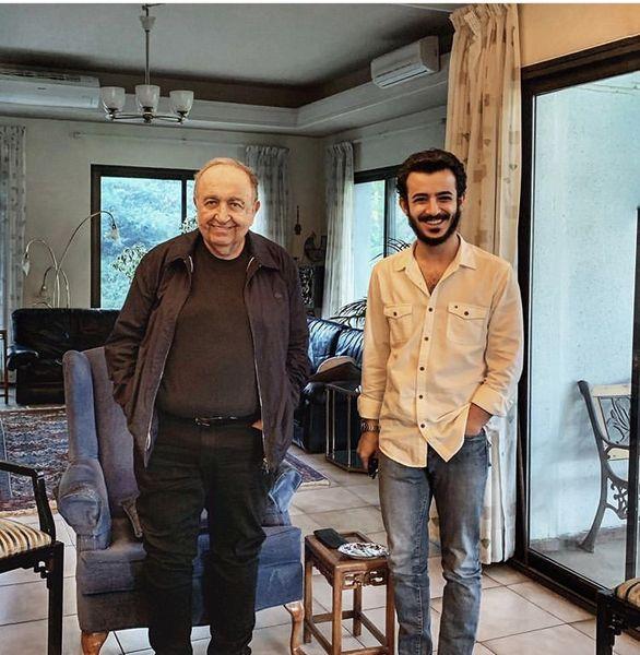 علی شادمان در خانه بهمن فرمان آرا + عکس