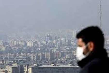 علل آلودگی هوا در تهران