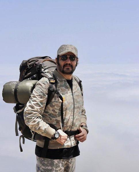 صعود مهران رنجبر به قله های بلند + عکس