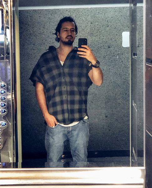 لباس های اورسایز مهرداد صدیقیان + عکس