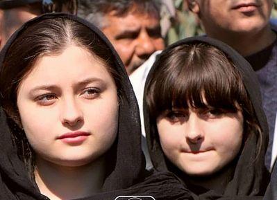 دوقلوهای پایتخت در مراسم تشییع «خشایار الوند»