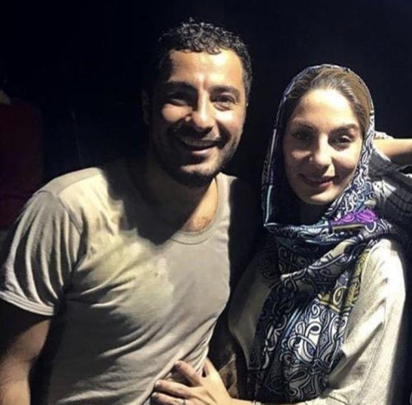 نوید محمدزاده و خواهرش در یک مراسم + عکی