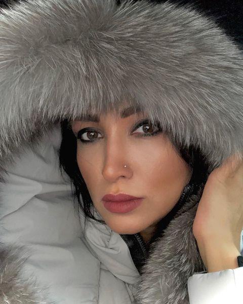 روناک یونسی در سرمای شدید کانادا+عکس