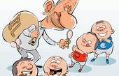 کاریکاتور شکلات جهانگیری برای استقلال و پرسپولیس!