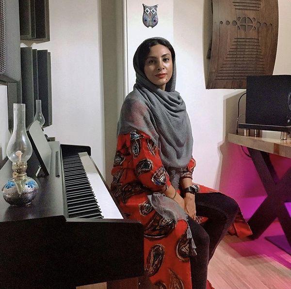 خانه زیبا حدیثه تهرانی + عکس