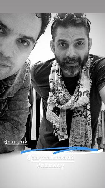 سلفی پیمان معادی با نیمانی مشهور + عکس