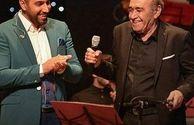 احسان خواجه امیری و پدر معروفش+عکس