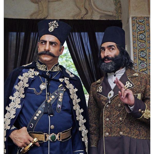 گریم متفاوت هادی کاظمی + عکس