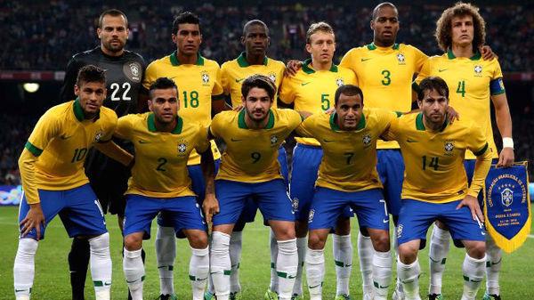 ترکیب تیم ملی برزیلی در جام جهانی+عکس