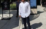 تیپ متفاوت محمدرضا گلزار در لس آنجلس+عکس