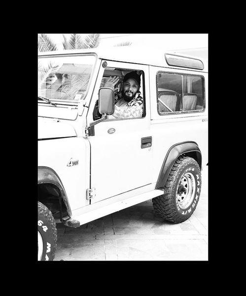 ماشین قدیمی مهران رنجبر + عکس