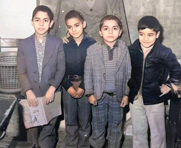وقتی مهران مدیری کچل بوده + عکس