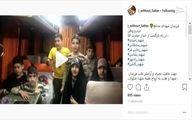 همخوانی فرزندان شهدای مدافع حرم پس از دیدار با رهبری