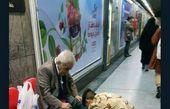 توئیتر:عکس زیبا از سرباز مهربان