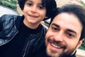 خوشحالی بابک جهانبخش از بزرگ شدن پسرش