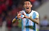 فوقستاره تیم ملی آرژانتین مصدوم شد