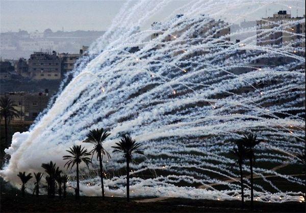 ائتلاف آمریکایی با استفاده از بمبهای فسفر سفید به «هجین» سوریه حمله کرد