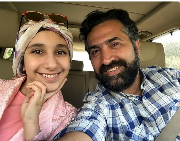 همسر بهاره رهنما و دخترش در ماشینشون + عکس