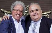 دو مرد نمکی ایران در آغوش یکدیگر+عکس