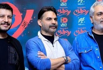 آقایون بازیگر مهمانان ویژه اکران رد خون+عکس