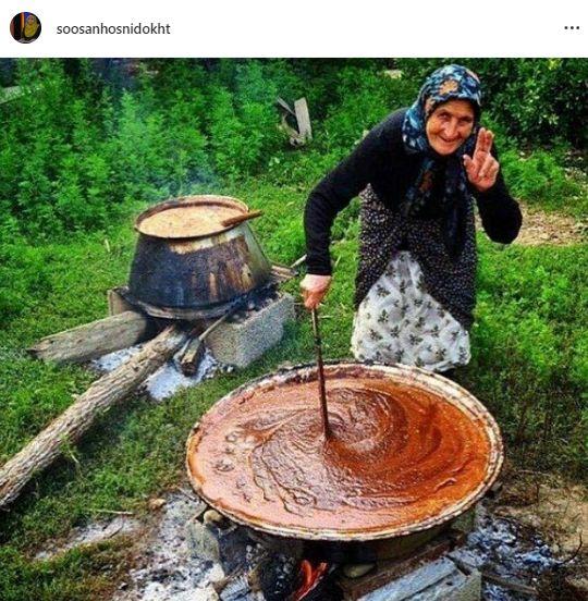 عکسی پر از حس عجیب و گمنام خانم مجری