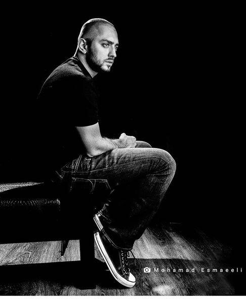 بهرام رادان با سری تراشیده + عکس