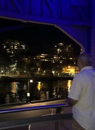 برادر جان شبنم قلی خانی در سیدنی+عکس