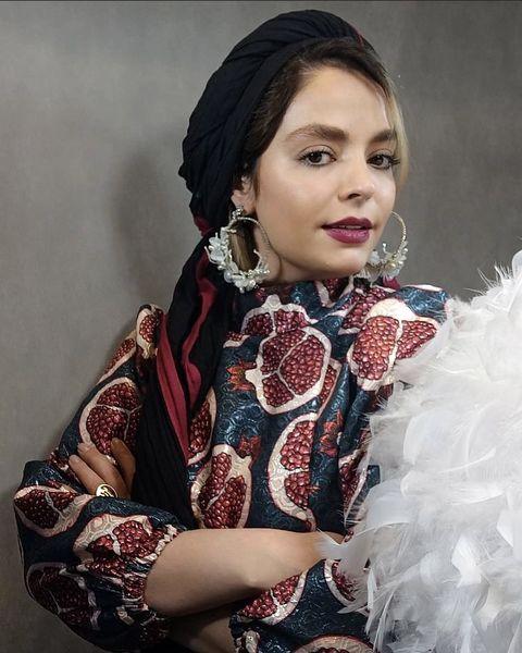 لباس یلدایی سپیده خداوردی + عکس