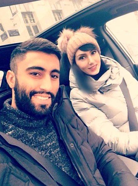سلفی ستاره فوتبال ایرانی و همسرش فرنوش شیخی در بلژیک/عکس