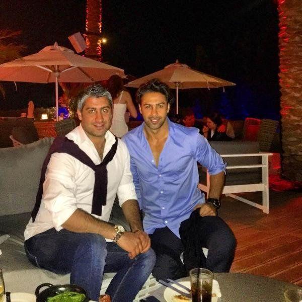 فرهاد مجیدی در کنار برادرش فرزاد + عکس