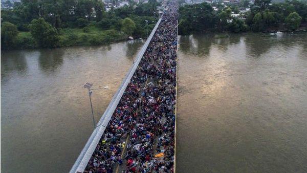 لشکرکشی آمریکا برای مقابله با کاروان پناهجویان آمریکای مرکزی