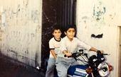 موتورسوای همسر سمانه پاکدل در کودکی+عکس