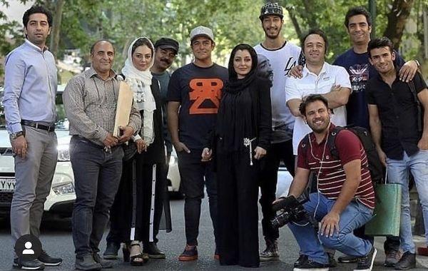 عکسی دیده نشده از پشت صحنه رحمان 1400 + عکس