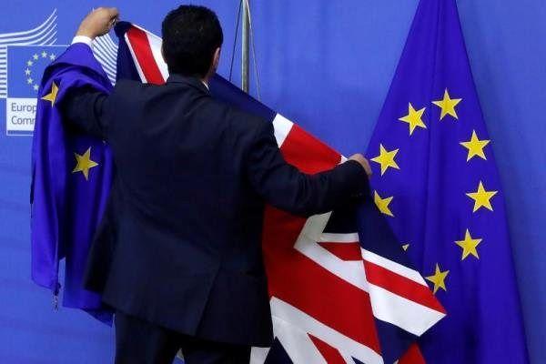 Image result for ترزا می: برای برکسیت بدون توافق با اعضای اتحادیه اروپا آماده میشویم