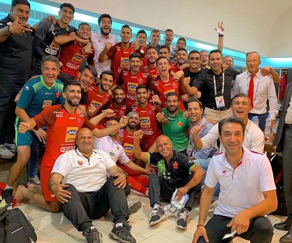 تبریک محسن خلیلی به قرمزپوش های پایتخت