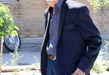 غم حامد کمیلی برای از دست دادن پدربزرگ مهربانش
