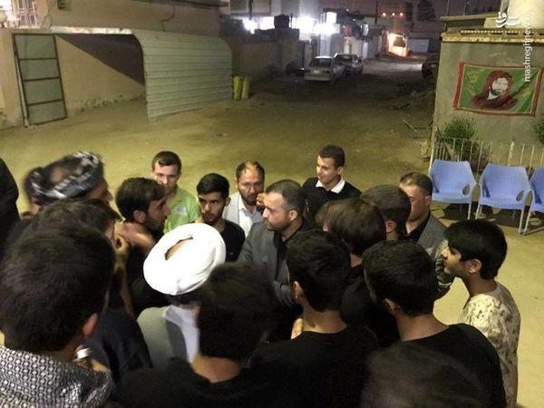 اسکان زائران ایرانی در خانه وزیر عراقی