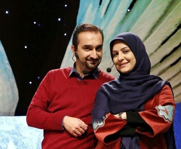 زوج مجری بانمک معروف+عکس