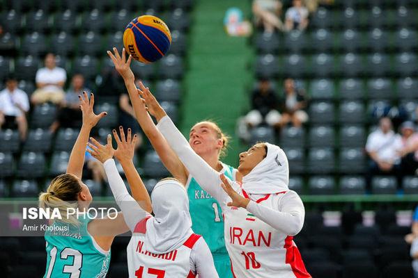 برنامه بسکتبال دختران در قهرمانی آسیا