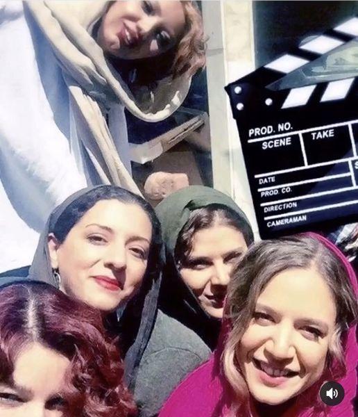 سلفی ستاره پسیانی با دوستانش + عکس