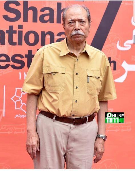 عکس جدید استاد علی نصیریان